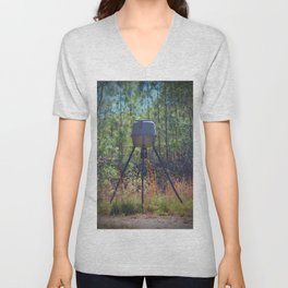 Deer Feeder Unisex V-Neck