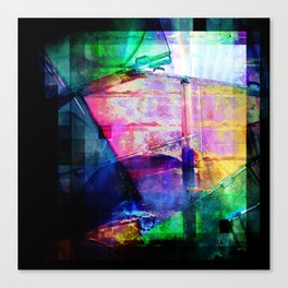 Colorful Cases Collage Canvas Print