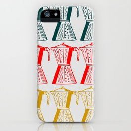 Cafetera iPhone Case
