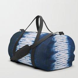 -A22- Indigo Traditional Original Arteresting Artwork. Duffle Bag