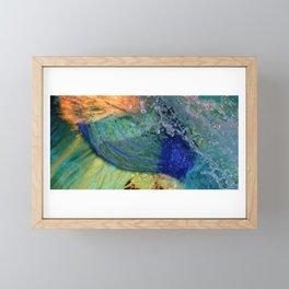 A Mermaid Tail Framed Mini Art Print