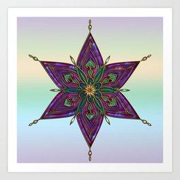 Crest of Kali Art Print