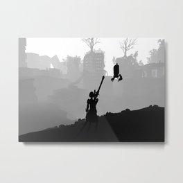 NieR Automata Metal Print