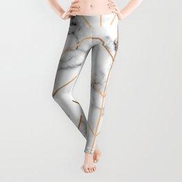 Marble Geometry 057 Leggings
