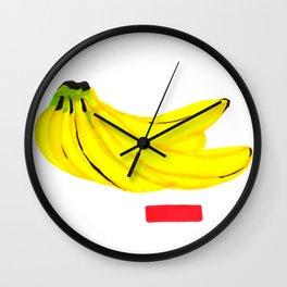It's Bananas Wall Clock
