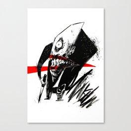 Mr. Munshun by Anna Helena Szymborska Canvas Print