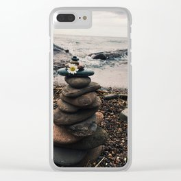 Rock Tower Clear iPhone Case