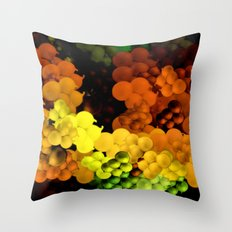 Green Onions Throw Pillow
