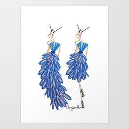 Virginie & Véronique Art Print
