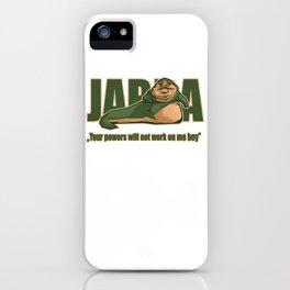 Jabba the hutt iPhone Case