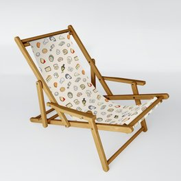 Cheese pattern Sling Chair