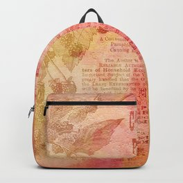 Vintage Pretty Chic Summer Fruits Backpack