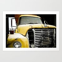 truck Art Prints featuring Truck by Matt Muñoz