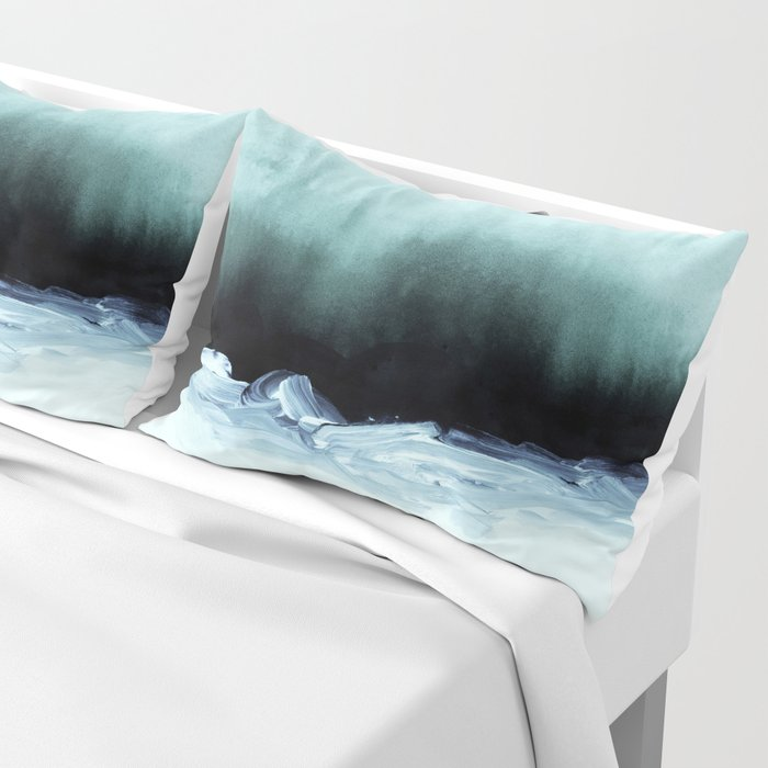 nordic shores 1 Pillow Sham