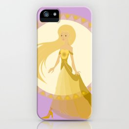 Jaune iPhone Case