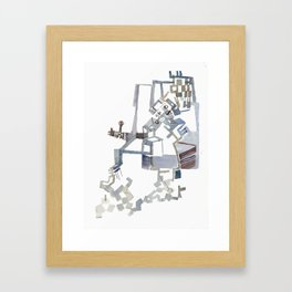Sebastian De Haro, 'Towards a Theory of Emergence for the Physical Sciences' 1 Framed Art Print