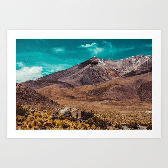 Mountain Melodies - 10 Art Print