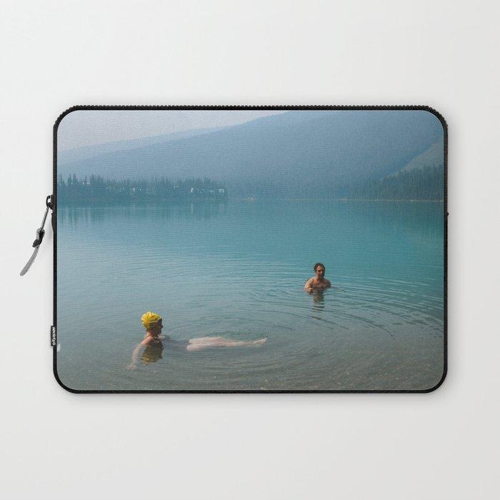 Kind Strangers in Banff Laptop Sleeve