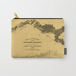 Gettysburg Railroad 1839 Carry-All Pouch