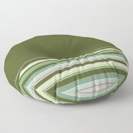 Simple, striped pattern, stripes, bright, striped background, multicolored, creative, elegant Floor Pillow