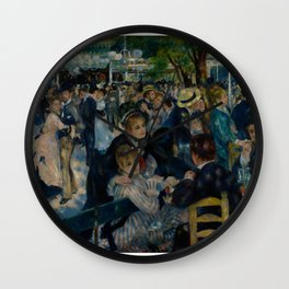 Auguste Renoir - Dance at Le Moulin de la Galette Wall Clock