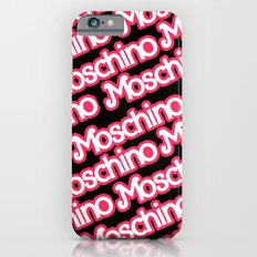 Moschino Everything Black iPhone 6s Slim Case