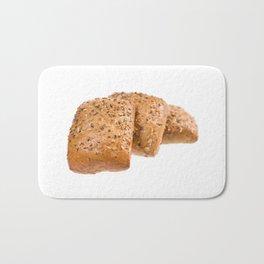 baked graham bread rolls Bath Mat