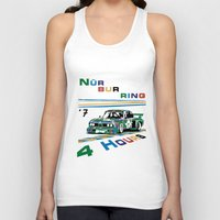 1975 Tank Tops featuring 1975 BMW Victory at 4 Hours of Nürburgring by DailyTurismo