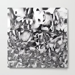 Lapwing in Disguise Metal Print