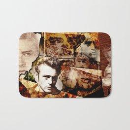 Jame Dean - Grunge Style - Bath Mat