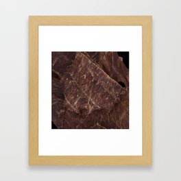 Beef Jerky Framed Art Print
