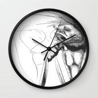 kill la kill Wall Clocks featuring Kill by pFaza