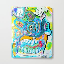 Jenkins (Contemporary Art New Style Painting) Metal Print