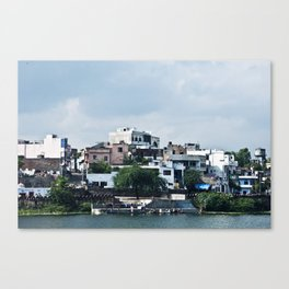 Lakeside in Udaipur, India Canvas Print