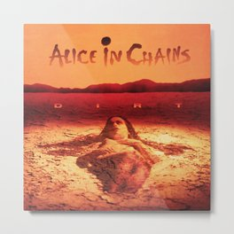 alice in chains dirt sand tour 2020 2021 ngapril Metal Print