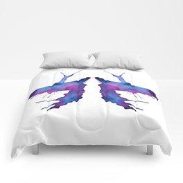 Dog Antlers Comforters