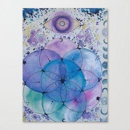 Sacred Geo Canvas Print