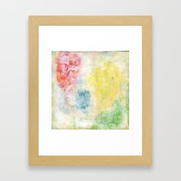 Obscured Hearts Framed Art Print