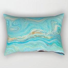Texture nature garmonia sea 8 Rectangular Pillow