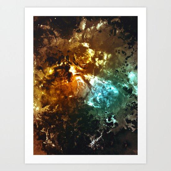 γ Regor II Art Print