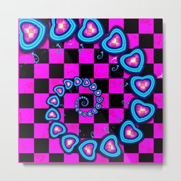 Hearts for Peggy Sue Metal Print