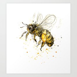 Honey Bee 2012  Art Print