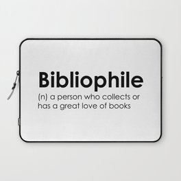 bibliophile Laptop Sleeve