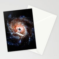 Ride The Spiral Stationery Cards