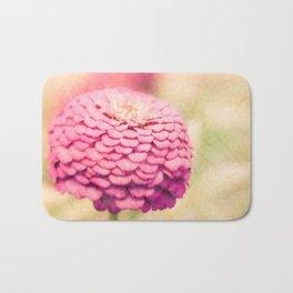 Pink Floral Bath Mat