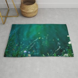 Fairy Tail - Flower on the Water - Magic Grass Rug