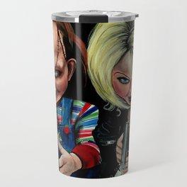 Chucky & Tiffany Travel Mug