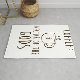 COFFEE NECTAR OF THE GODS T-SHIRT Rug