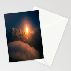 Sunrise view from Stairway to Heaven Trail Oahu HI Stationery Cards