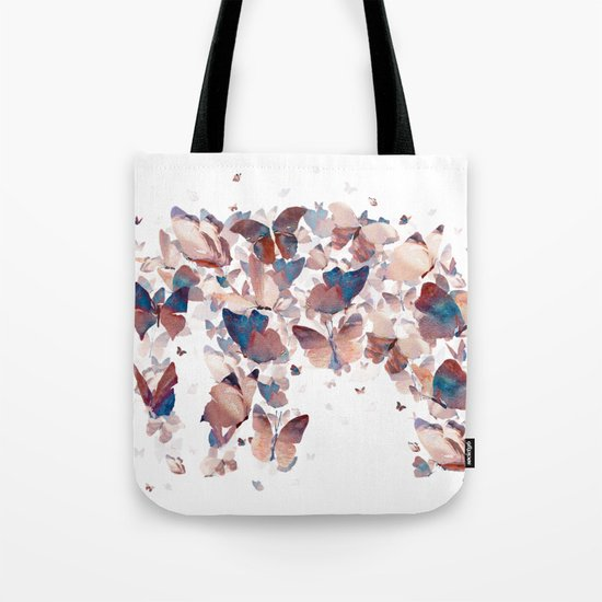 Butterfly Assemblage Tote Bag